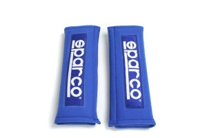 Sparco Harness Belt Pad 3 Inch Blue  ( Part Number: 01098S3A)