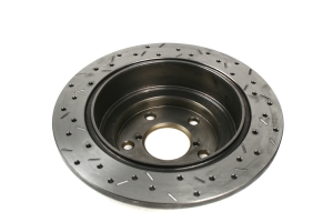 DBA 4000 Series Drilled/Slotted Rear Rotor Single ( Part Number:DBA 4644XS)