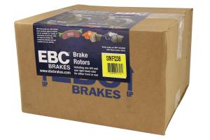 EBC Brakes S11 Front Brake Kit Greenstuff 2000 and RK Rotors - Subaru Models (inc. 2005-2012 Legacy GT / 2014-2016 Forester XT)