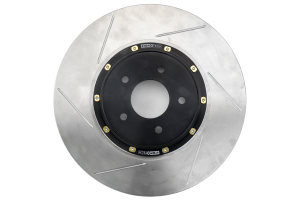 Stoptech 2 Piece AeroRotor and Hat 350x32 Slotted Front Right ( Part Number: 129.46083.14)