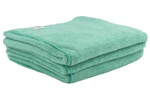 Chemical Guys Workhorse Professional Grade Microfiber Towel Green (3 Pack) - Universal