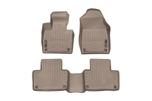 Weathertech Front and Rear Floorliners Tan - Subaru Outback 2020+
