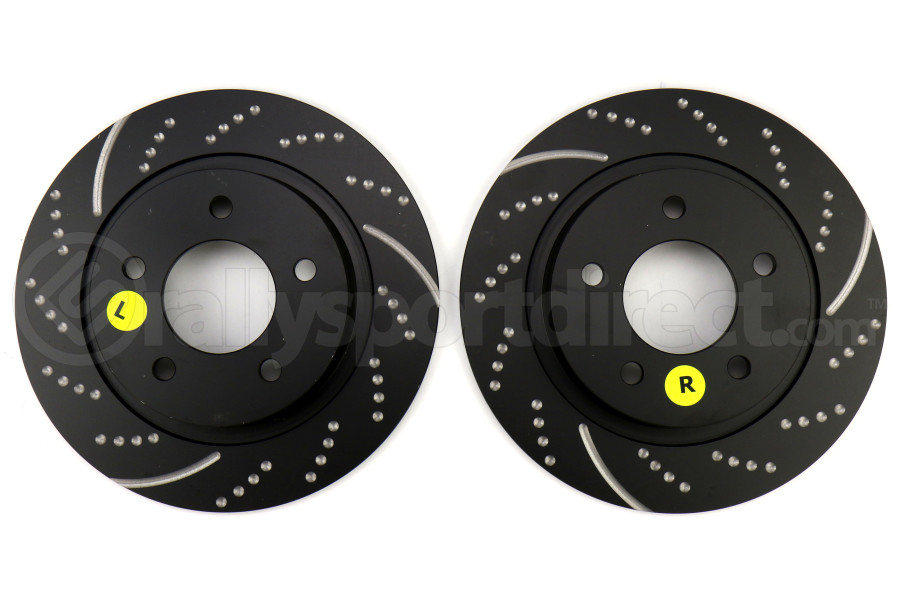 EBC Brakes GD1071 3GD Series Dimpled and Slotted Sport Rotor