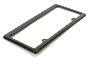 Seibon Carbon Fiber License Plate Frame - Universal