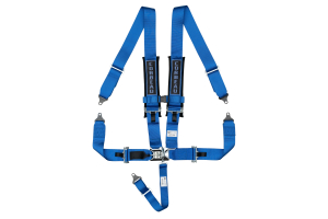 Corbeau 3 Inch 5-Point Latch & Link Harness Blue - Universal