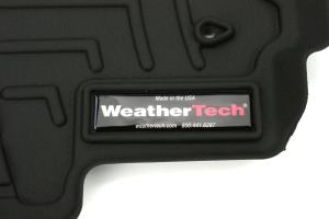 Weathertech Front FloorLiners Black ( Part Number:WEA 447081)