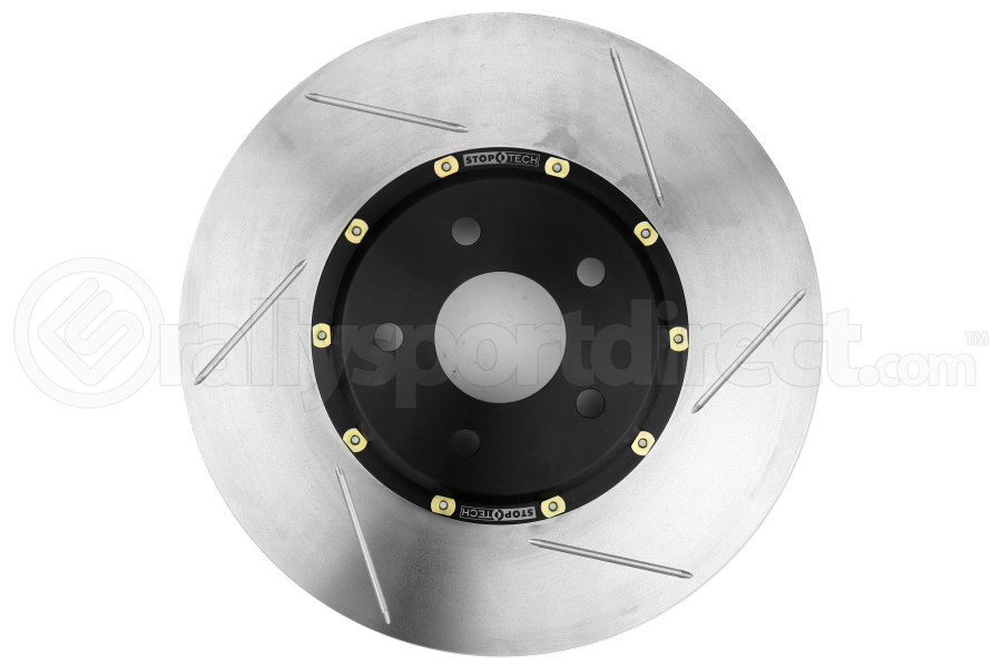 Stoptech 2-Piece Slotted Aerorotor and Hat 320x25 Left - Ford Focus ST 2013+