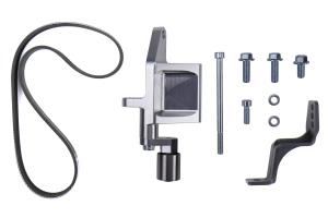 IAG Alternator Relocation Kit For Reverse Intake Manifold (NO Power Steering) - Subaru Models (Inc. WRX 2002-2014 / STI 2004 - 2020)