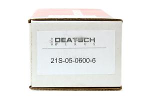 DeatschWerks Fuel Injectors 600cc  ( Part Number:DET 21S-05-0600-6)