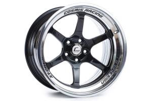 Cosmis Racing Wheels XT-006R 18x11 +8 5x114.3 Black w/ Machined Lip - Universal