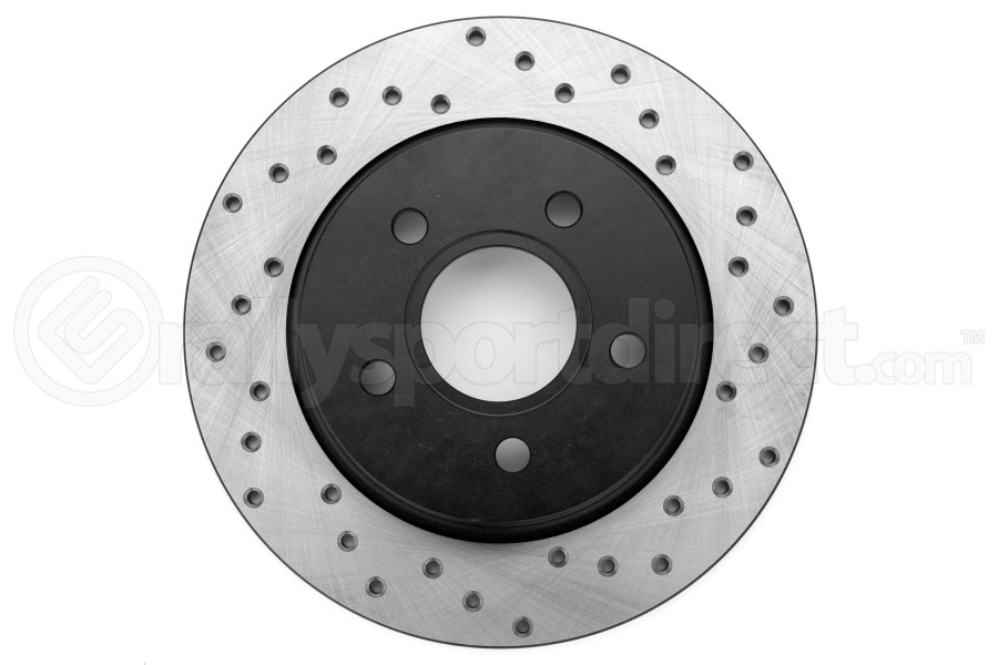 Stoptech Drilled Rear Left Rotor Single ( Part Number:STP 128.61099L)