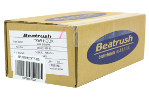 Beatrush Rear Tow Hook Yellow - Subaru WRX/STI 2015+
