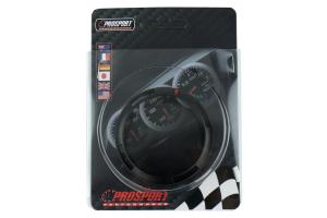 ProSport Premium Series Black Bezel Cover w/ Warning Ring 52mm ( Part Number:PRS SMR-52)