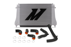 Mishimoto Performance Intercooler Kit Wrinkle Black - Volkswagen Models (inc. 2015+ GTI / 2016+ Golf R)
