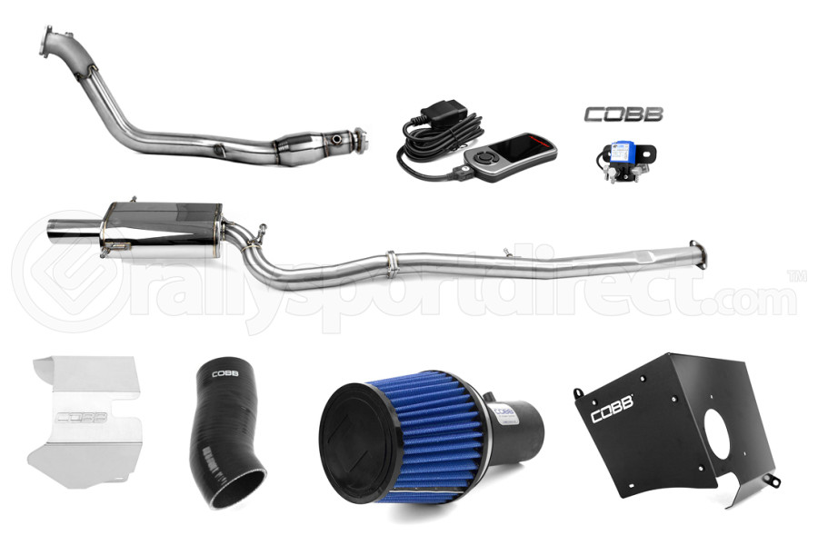 COBB Tuning Stage 2+ Power Package w/ V3 Black (Part Number:613X02PBK)