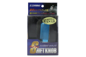 Carbing High Grip Shift Knob Blue M12x1.25 (Part Number: )