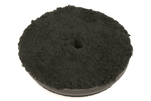 Chemical Guys Black Optics Microfiber Polishing Pad Black 5.5 Inch - Universal