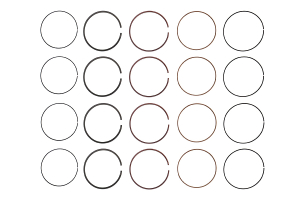 Cosworth Piston Ring Set 99.75mm Bore ( Part Number:COS1 20001516)