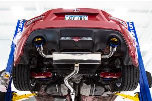FactionFab Catback Exhaust w/ Burnt Tips  - Scion FR-S 2013-2016 / Subaru BRZ 2013+ / Toyota 86 2017+