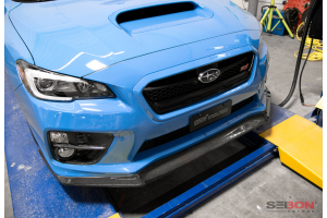 Seibon Carbon Fiber MB1 Style Front Lip - Subaru WRX/STI 2015-2017