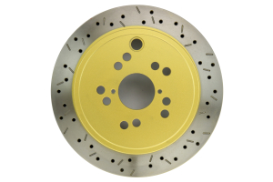 DBA 4000 Drilled/Slotted Rotor Single Rear (Part Number: 42663XS-10)