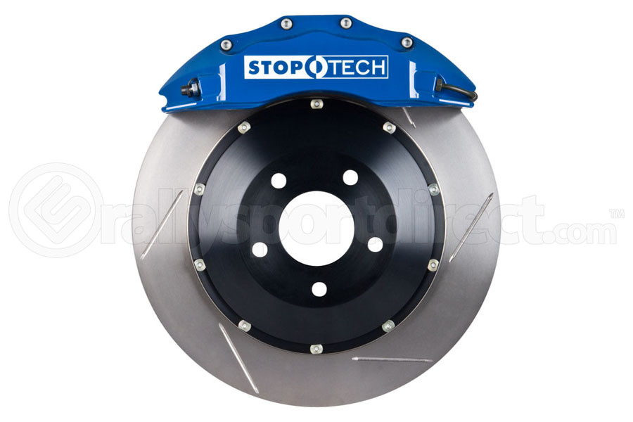 Stoptech ST-60 Big Brake Kit Front 355mm Blue Slotted Rotors (Part Number:83.838.6700.21)