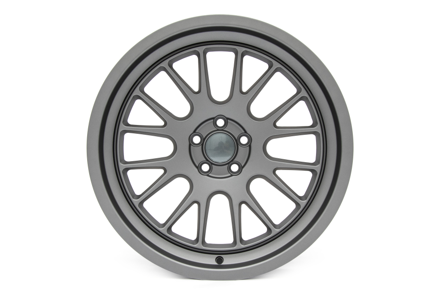 Ambit RE82 18x9.5 +38 5x114.3 Matte Gunmetal - Universal