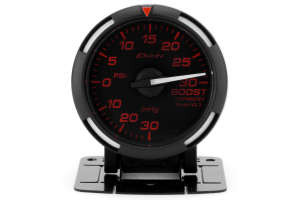 Defi Red Racer Boost Gauge Imperial 52mm 30 PSI White Needle (Part Number: )