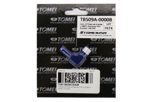Tomei Fuel Pressure Regulator Hose Fitting Elbow - Universal