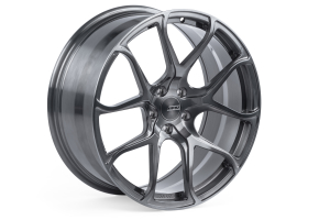 APR S01 20x9 +42 5x112 Brushed w/ Grey Tinted Clear - Universal