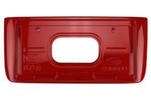 Subaru OEM Paint Matched JDM Rear License Plate Holder - Subaru WRX / STI 2015+