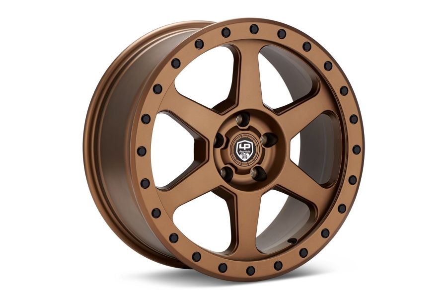LP Aventure LP3 Wheel 17X8 +20 5x114.3 Bronze - Universal