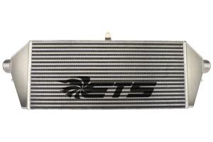 ETS Front Mount Intercooler Core Silver w/ Black ETS Stencil - Subaru STI 2008-2014