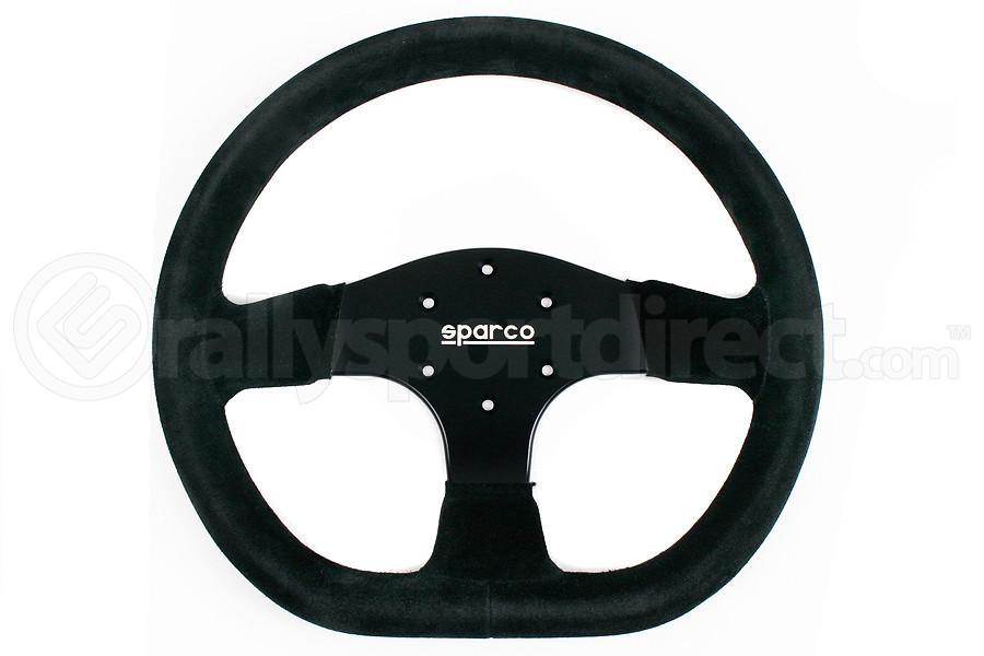 Sparco Steering Wheel 353 Black Suede (Part Number:015R353PSN)