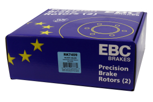 EBC Brakes Ultimax OE Style Rear Brake Rotors - Subaru WRX 2006-2007 / Legacy GT 2005-2009