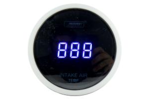 ProSport Digital Intake Temperature Gauge w/Sender Blue 52mm ( Part Number:PRS PSSITLCD-BL.F)