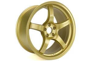 Gram Lights 57CR 18x9.5 +38 5x100 E8 Gold - Universal
