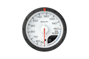 Defi Advance CR Oil Temperature Metric White 60mm Gauge ( Part Number:DEF2 DF09101)