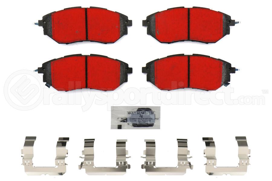 Stoptech PQ Pro Brake Pads Front - Subaru Models (inc. 2015+ WRX / 2005-2012 Legacy GT)