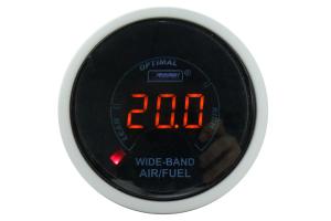 ProSport Digital Wideband Air Fuel Ratio w/Sensor Amber 52mm ( Part Number: PSAFRLCDWB4.9AMBWO)