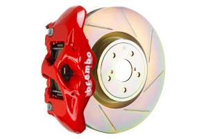 Brembo GT Systems Monobloc 4 Piston 326mm Slotted Red - Subaru Models (inc. 2002-2014 WRX / STI)