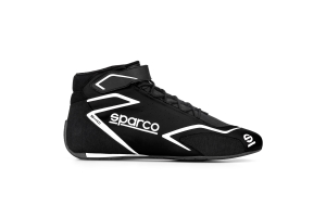 Sparco Skid Shoes Black / White - Universal