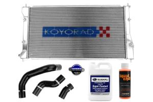 Aluminum Radiator Upgrade Kit ( Part Number:RSD BRZRADUP)