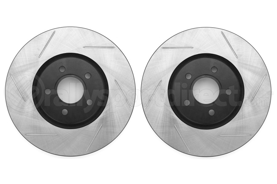 Stoptech Slotted Front Rotor Pair (Part Number:126.39038S-GRP)