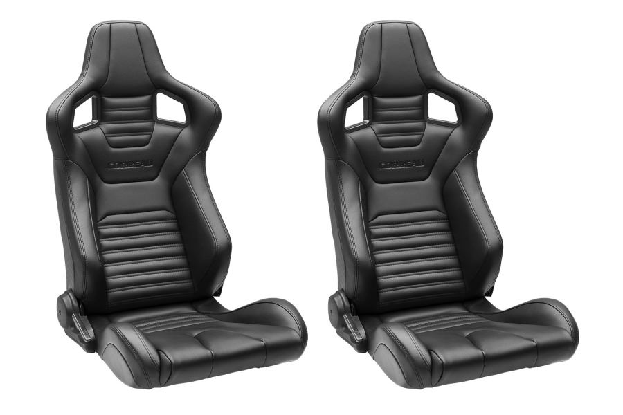 Corbeau Sportline RRS Reclining Seats Pair (Part Number:RRS-SEAT)
