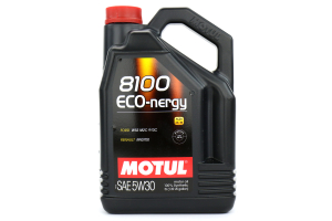 Motul 8100 Eco-Nergy 5W30 Engine Oil 5L (Part Number: )