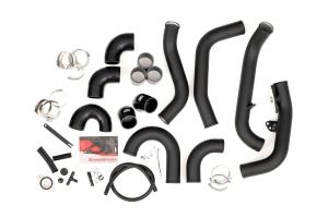 GrimmSpeed Front Mount Intercooler Pipe Kit Black - Subaru STI 2015-2021