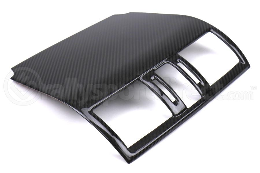 OLM LE Dry Carbon Fiber Center AC Trim Cover - Subaru Models (WRX / STI 2015)
