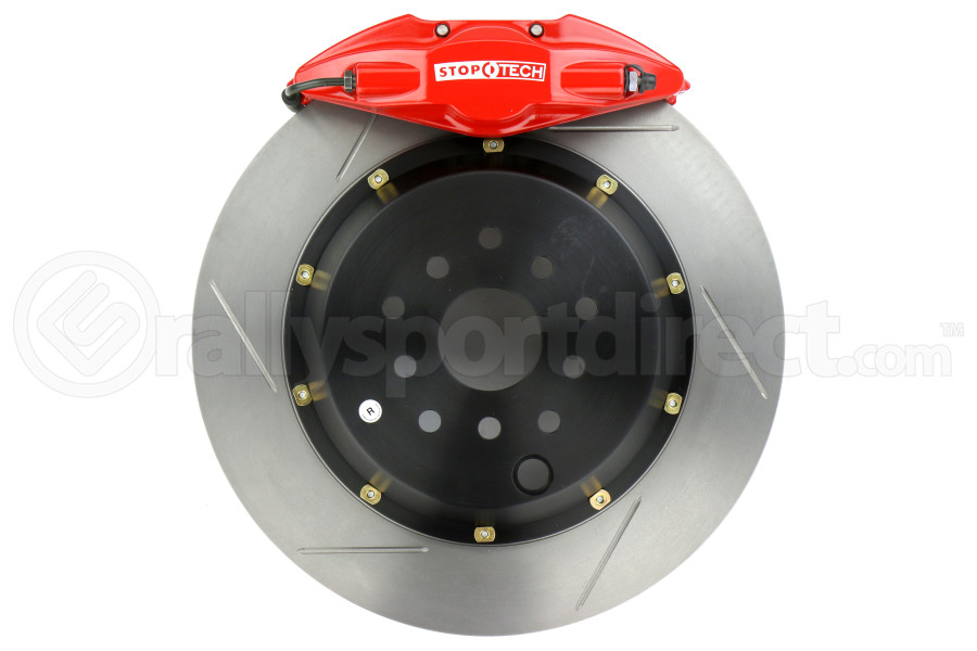 Stoptech ST-22 Big Brake Kit Rear 345mm Red Slotted Rotors (Part Number:83.843.002G.71)