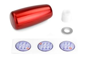 Beatrush Type-E Aluminum Shift Knob Red M10x1.25 - Universal